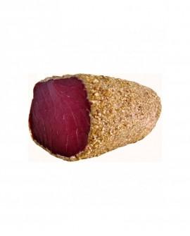 Tonno bresaola in crosta di sesamo filetto stagionato oltre 5 mesi - 500g - scadenza 90gg - Salumi di Mare