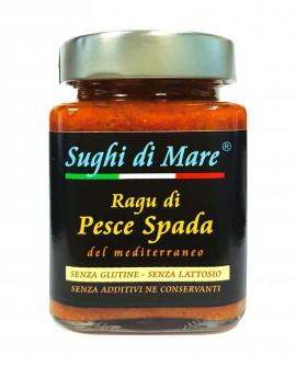 Ragù di Pesce Spada - vaso vetro 200g - scadenza 18 mesi - Salumi di Mare