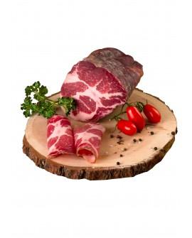 Coppa artigianale - Schweinenacken - 1/2 metà 750g - stagionatura 3 mesi - Salumificio Plauser Speck Ladele