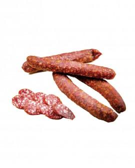 Kaminwurzen Affumelli con Cervo altoatesini artigianali - 1 pezzo 80g - stagionatura 1 mese - Salumificio Plauser Speck Ladele