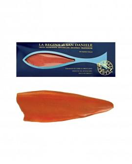 Regina di San Daniele - 500g baffa intera - Filetto di Trota Salmonata Affumicata a freddo - Friul Trota