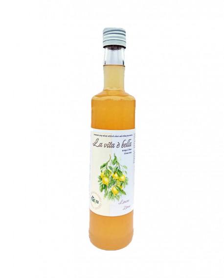 Puro Drink Limone Bio artigianale - bottiglia 500ml - Puro Natura