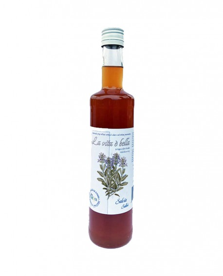 Puro Drink Salvia Bio artigianale - bottiglia 500ml - Puro Natura