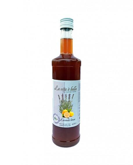 Puro Drink Lavanda e Limone Bio artigianale - bottiglia 500ml - Puro Natura