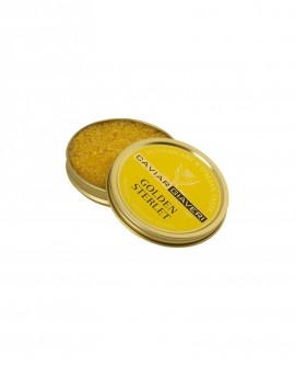 Caviale Golden Sterlet Limited Edition - 30g - Caviar Giaveri