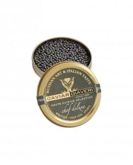 Caviale Chef Deluxe-Haute cuisine selection - 30g - Caviar Giaveri
