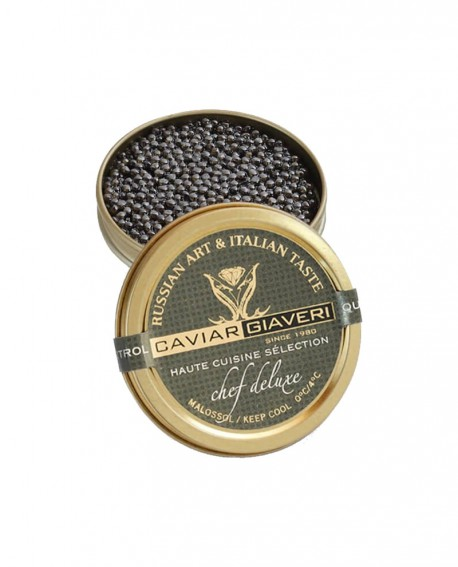 Caviale Chef Deluxe-Haute cuisine selection - 50g - Caviar Giaveri
