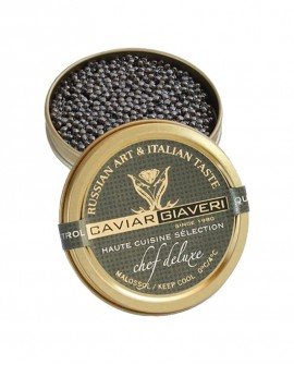 Caviale Chef Deluxe-Haute cuisine selection - 100g - Caviar Giaveri