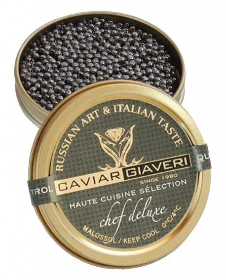 Caviale Chef Deluxe-Haute cuisine selection - 250g - Caviar Giaveri