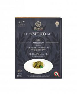 Il Pesto del Re - Pappardelle Gluten Free - Le Cene Stellate chef Tommaso Arrigoni - 4 porzioni - Fratelli Desideri
