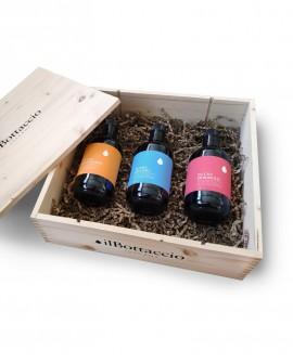 Cofanetto Regalo MONOCULTIVAR MIX n.3 bottiglie da 500ml - Olio il Bottaccio