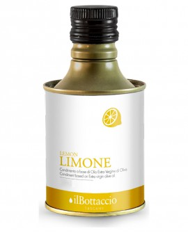 Olio Extravergine d'Oliva Italiano INFUSO al Limone - 750ml - Olio il Bottaccio