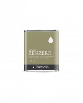 Condimento SPEZIATO allo ZENZERO Olio Extravergine d'Oliva Italiano - 100ml - Olio il Bottaccio