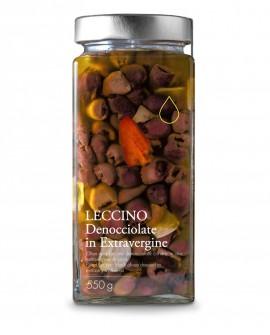 Olive nere Leccino denocciolate in olio extra vergine - 550g - Olio il Bottaccio