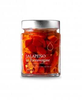 Sottolio Peperoncino Jalapeno in olio extra vergine - 280g - Olio il Bottaccio