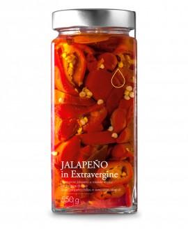 Sottolio Peperoncino Jalapeno in olio extra vergine - 550g - Olio il Bottaccio