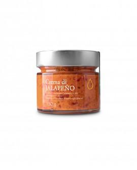 Crema di Peperoncino Jalapeno in olio extra vergine - 150g - Olio il Bottaccio