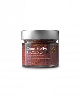 Crema di Olive Leccino in olio extra vergine - 150g - Olio il Bottaccio
