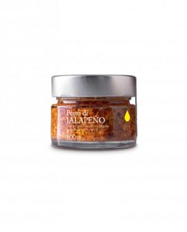 Pesto Piccante di Peperoncini Jalapeno - 100g - Olio il Bottaccio