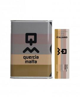 Olio Extravergine d'Oliva Classico 100% italiano - 3Lt - Olio Querciamatta