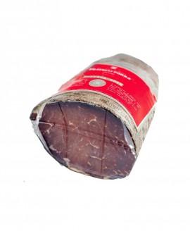 Bresaola di Montagna Riserva Roen - trancio piccolo 350g sottovuoto - stagionatura 5 mesi - Fratelli Corra