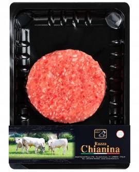 Maxi Hamburger di Carne Chianina - n.1 pezzo 260g skin - Carne Certificata - Macelleria Co.Pro.Car. San Nicolo