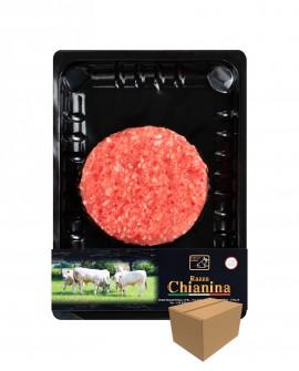 Maxi Hamburger di Carne Chianina - n.1 pezzo 260g skin - cartone da 10 pezzi - Carne Certificata - Macelleria Co.Pro.Car. San Ni