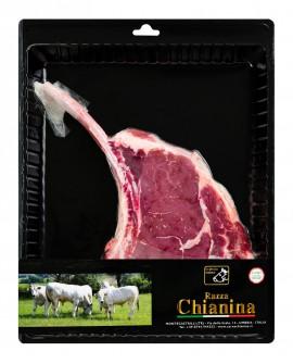 Tomahawk di Carne Chianina - n.1 pezzo 900g skin - Carne Certificata - Macelleria Co.Pro.Car. San Nicolo