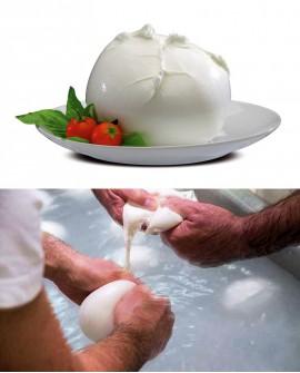 """Mozzarella di Bufala Campana D.O.P. """"Geni"""" 2 kg Casearia Agricol Sud"""