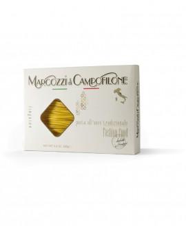 Linguine di Campofilone - pasta lunga all'uovo - astuccio da 250g - Pastificio Marcozzi