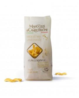 Strozzapreti - pasta corta all'uovo - sacchetto da 250g - Pastificio Marcozzi