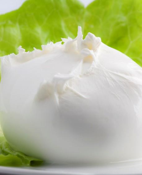 """Mozzarella di Bufala Campana D.O.P. """"Iovine"""" 100 g Casearia Agricol Sud"""