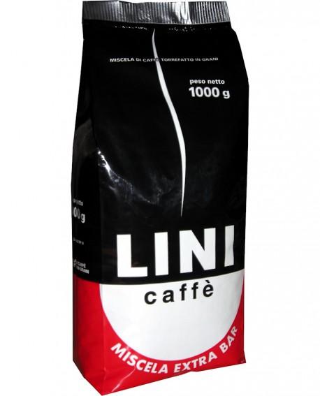 Caffè Espresso italiano in grani – 1 kg miscela Extra Bar – Lini Caffè