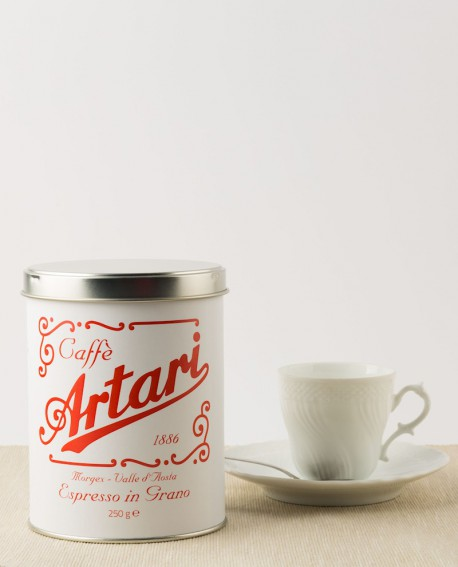 """Caffè Artari 1886 """"Espresso Casa"""" In Grano Latta 250 g"""