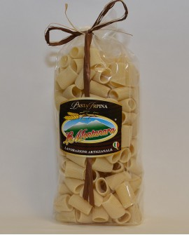 Mezze maniche rigate La Montanara - pasta secca trafilataura in bronzo