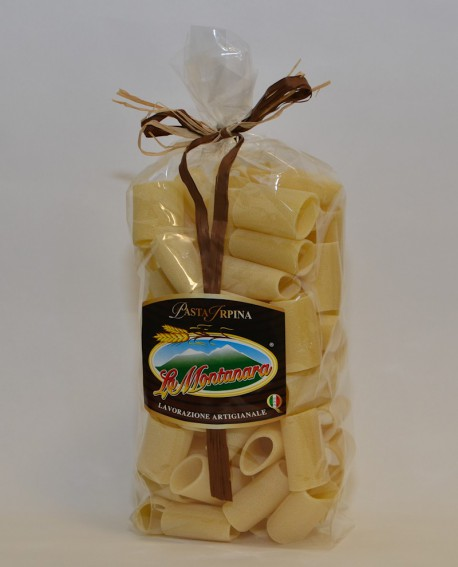 Paccheri La Montanara - pasta secca trafilataura in bronzo