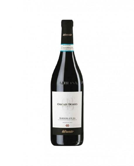Barbera d'Alba DOC - vino rosso l. 0,75 - Oscar Bosio La Bruciata
