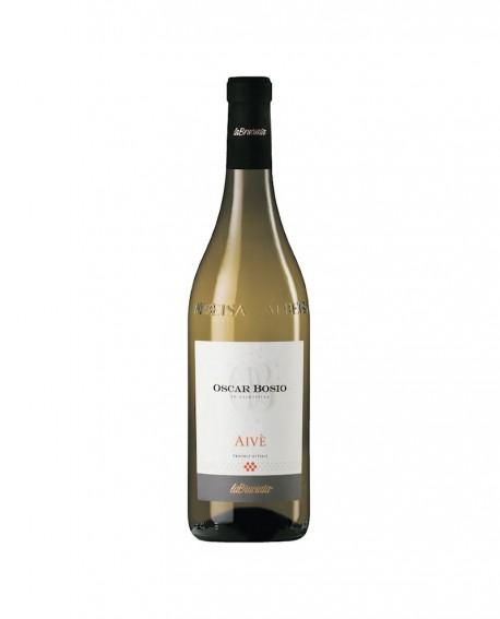 Aivè moscato secco VDT - vino bianco l. 0,75 - Oscar Bosio La Bruciata