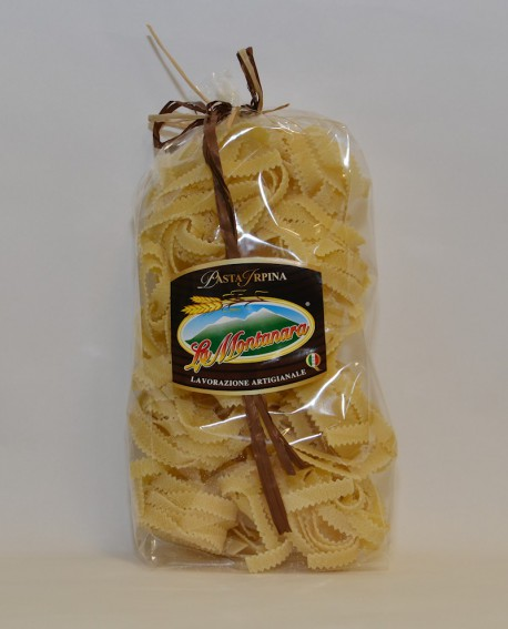 Tagliatelle ricce La Montanara - pasta secca trafilataura in bronzo