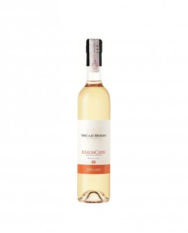 Moscato Chinato IL MOSCHIN - vino aromatizzato alla china  l. 0,5 - Oscar Bosio La Bruciata