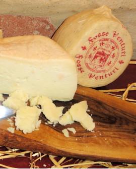 Formaggio Misto 50% pecora 50% mucca stagionato in fossa 1 kg - Fosse Venturi