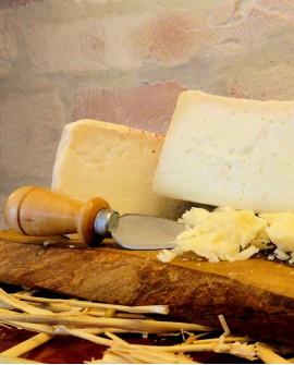 Formaggio contadino Pecorino latte non pastorizzato 600g - stagionato nella fossa - Fosse Venturi