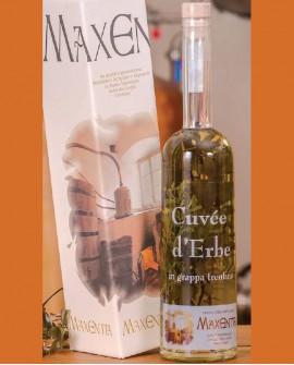 Grappa alle erbe Cuvée di Erbe 500 ml - Maxentia