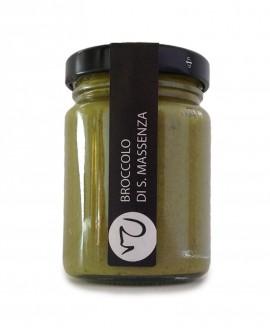 Crema di broccolo Santa Massenza condimento 106 gr erbe di montagna - Primitivizia