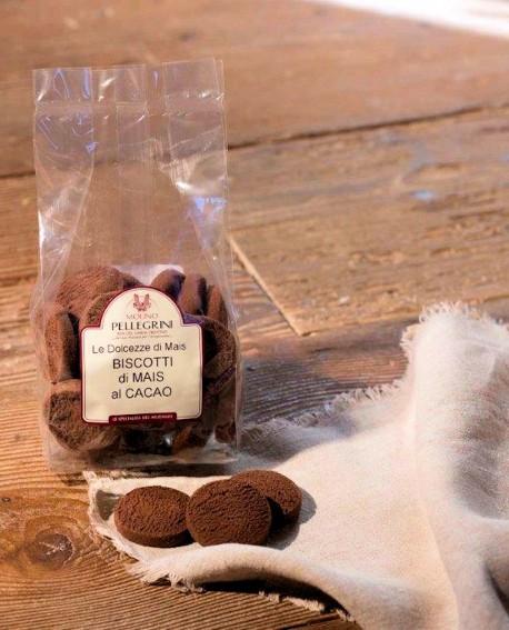 Biscotti di mais al cioccolato - 200g - Molino Pellegrini