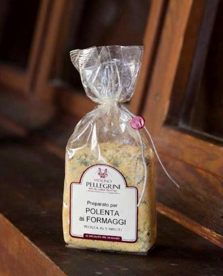 Polenta istantanea ai formaggi - Linea Specialità - 350g - Molino Pellegrini