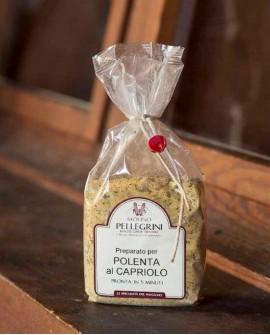 Polenta istantanea al capriolo - Linea Specialità - 350g - Molino Pellegrini