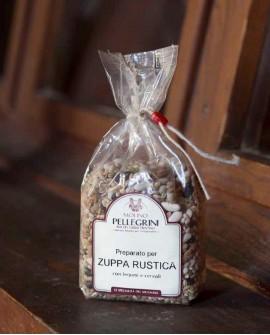 Zuppa rustica legumi e cereali - Linea Specialità - 400g - Molino Pellegrini