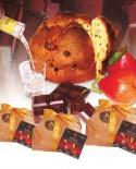 Panciuc pere e cioccolato imbibito con liquore alla pera 500 g - Pasticceria Aliverti