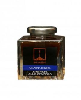 Gelatina di birra ambrata allo zenzero 100 G Birrificio San Quirico